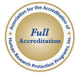 Full Accreditation - Association for the Accreditation of Human Research Protection Programs, Inc.